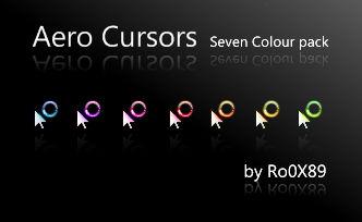 Aero Cursors by Ro0X89