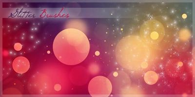 Glitter Brushes by KuroTennyo