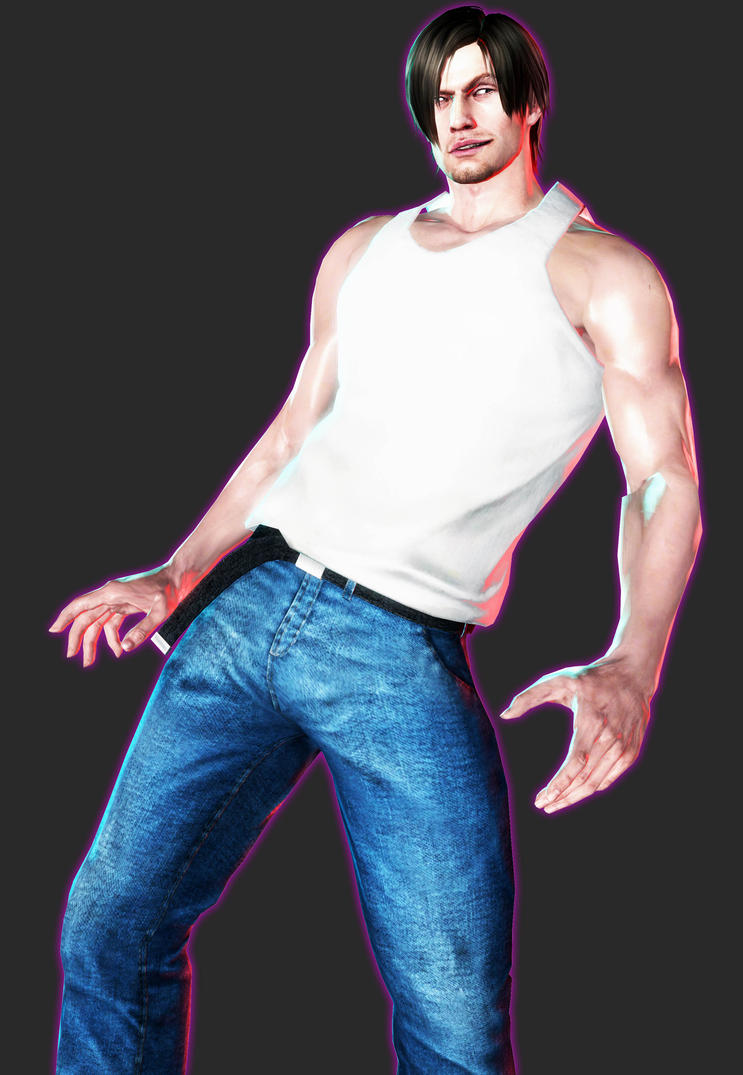 XPS - RE6 - Casual Leon by henryque999