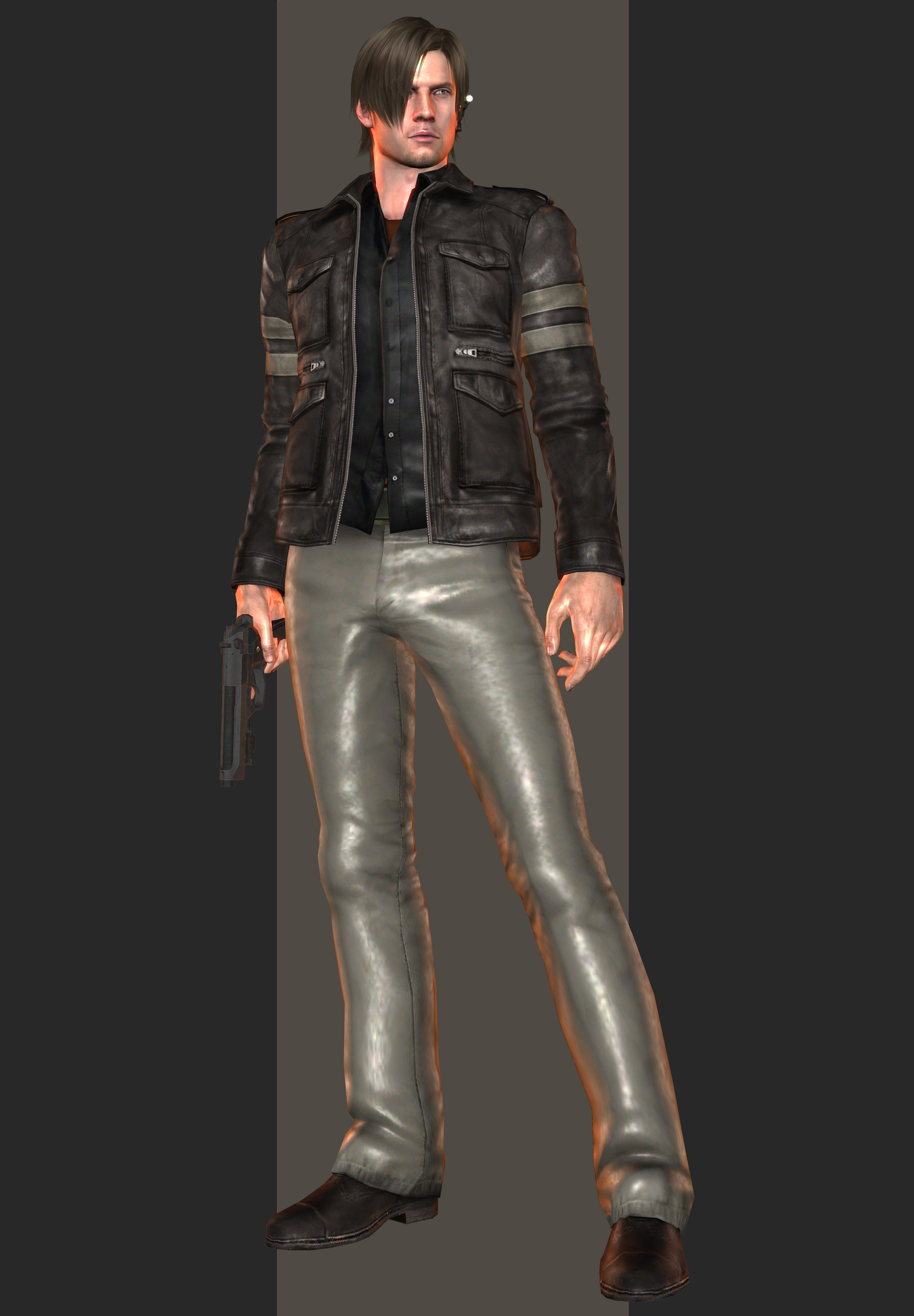 Xps Re6 Leon S Kennedy Tall Oaks Outfit By Henryque999 On