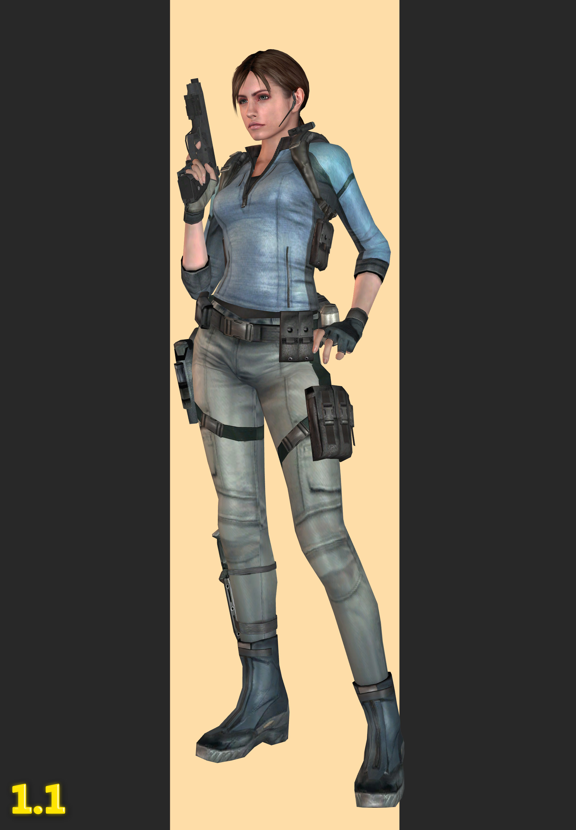 Xps Rev1 Jill Valentine B S A A Outfit By Henryque999