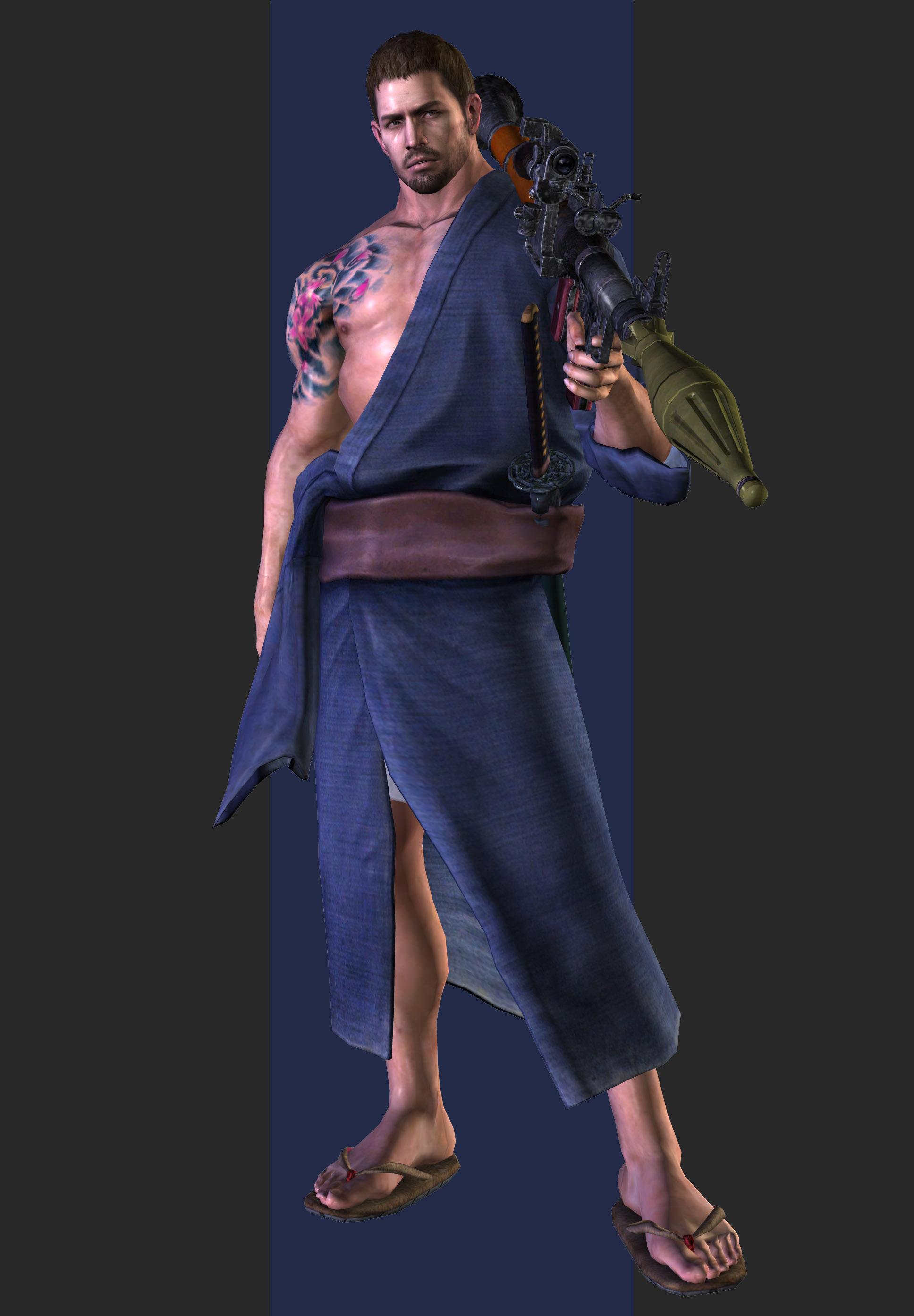 Xps Re6 Chris Redfield Mercenaries Costumes 1 2 By Henryque999 On Deviantart