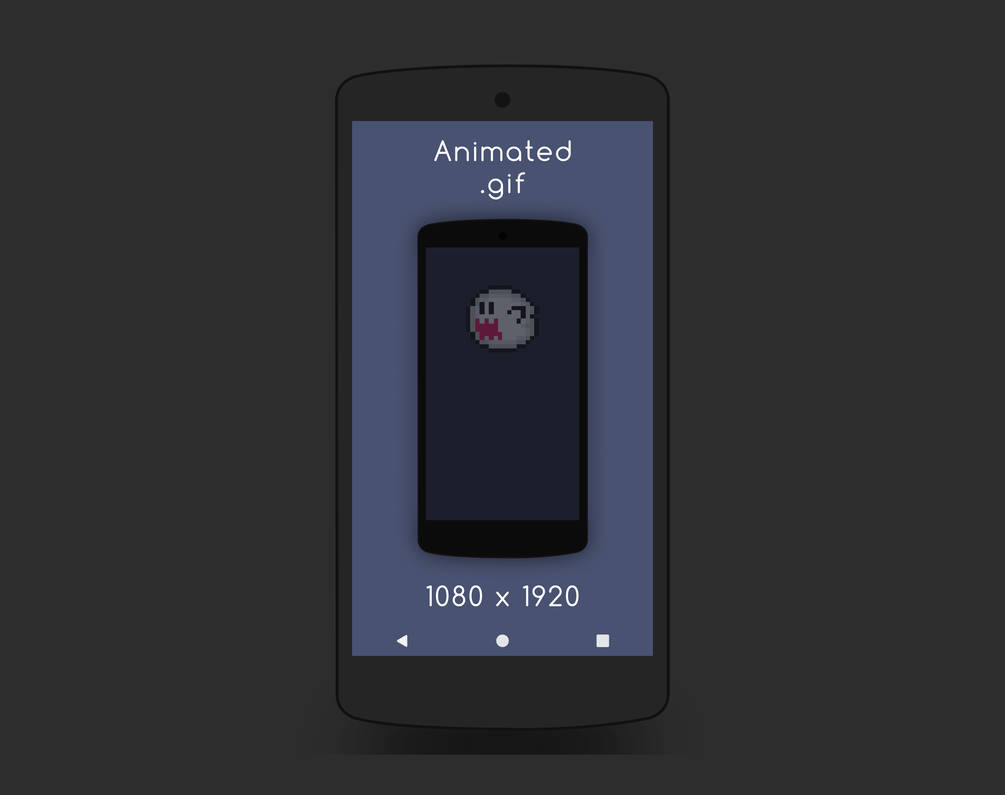 Spooky Boo Animated Phone Wallpaper By Midwestcrusader On