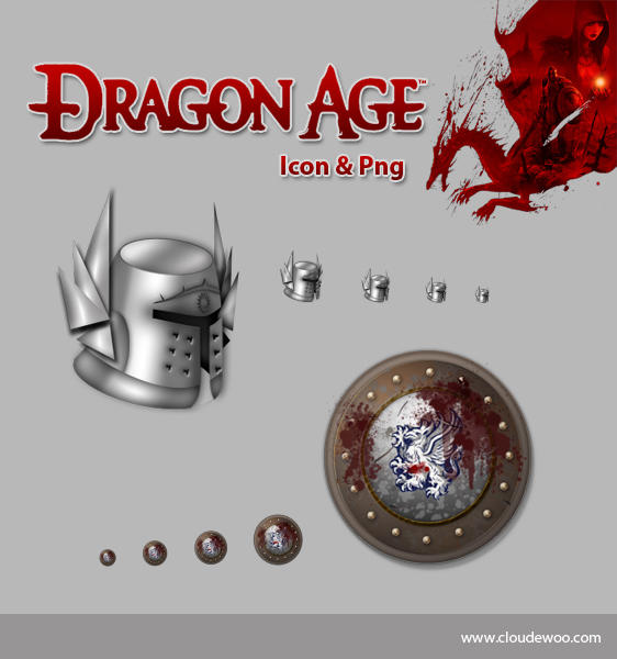 Dragon Age Icons by ~cloudewoo on deviantART