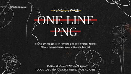 ONE LINE by @pencilspace