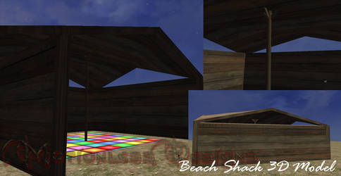 Beach Shack Object