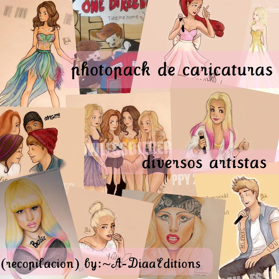 PhotoPack de Caricaturas (diversos artistas) :3 by A-DiaaEditions