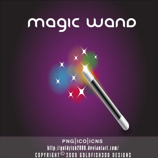 Magic Wand by goldfish2008