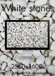 White Stones Wallpaper by goldfish2008