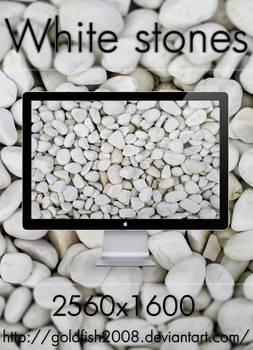 White Stones Wallpaper