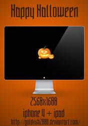 Happy Halloween wallpaper by goldfish2008