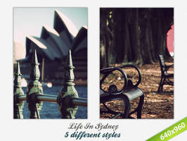 Life In Sydney Wallpaper by goldfish2008