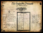 Old Documents Handwritten