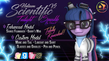 [DL] Scientific Twilgiht Sparkle | Helium - V2 by DazzioN