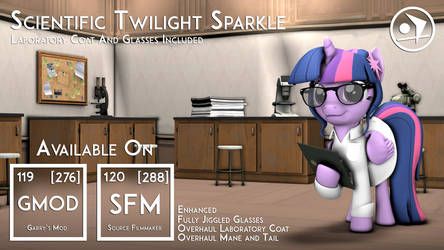 Remastered Original Scientific Twilight Sparkle by DazzioN