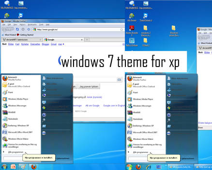 windows 7 theme for xp