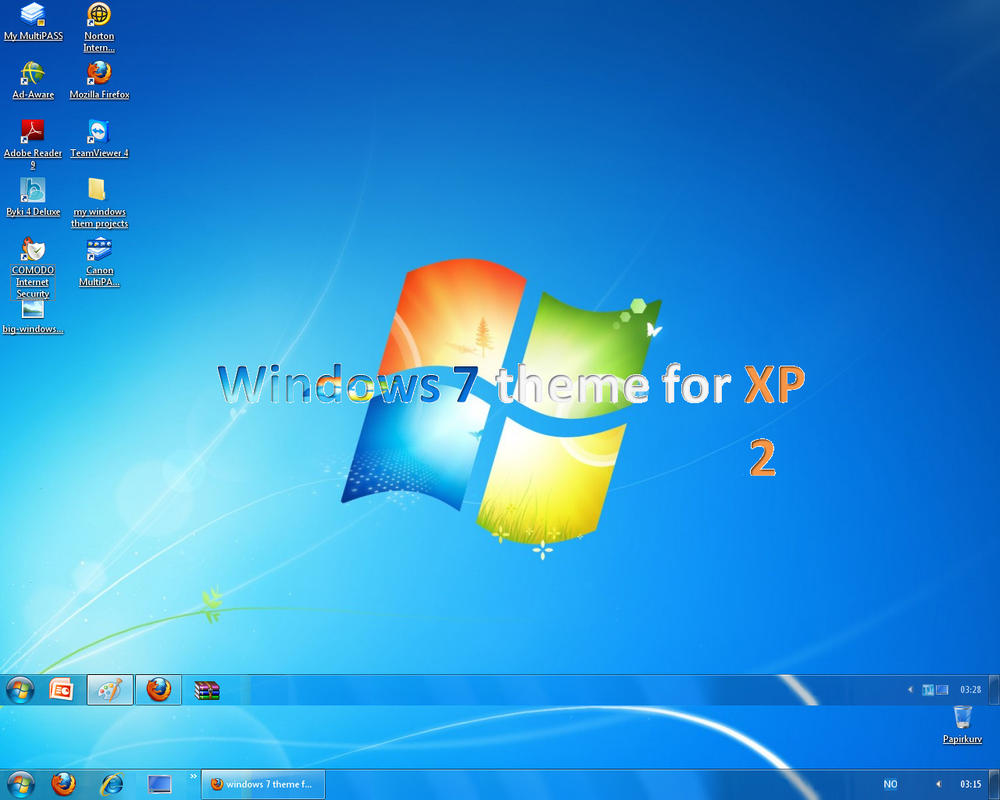 windows xp infected theam - photo #22