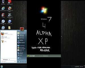 Windows 7 theme for Xp 4 Alpha