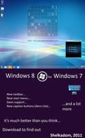 Windows 8 theme for windows 7 by Shelkadom