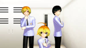 Ouran host club three pack +DL by bluepenguin123