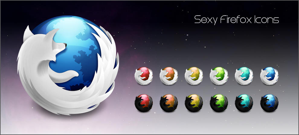 Sexy Firefox Icons by design-flame