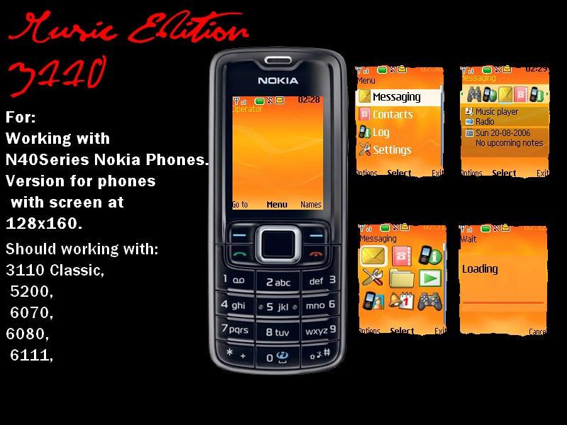 Music Edition N40Series by hotaftab