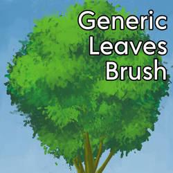 Generic - Leaf Brush for Clip Studio Paint