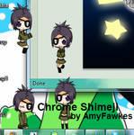 Chrome Dokuro Shimeji