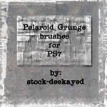 Polaroid Grunge Brushes