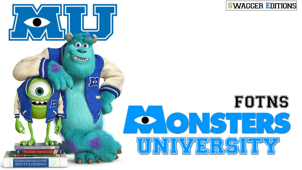 Monsters University FONTS by swaggereditons on DeviantArt