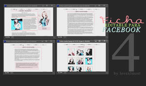 [Base] Ficha Editable | cuatro by lovexlmost