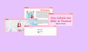 [Base + Portada] Ficha editable | seis by lovexlmost