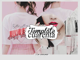 Template 40 ( + ) Plantilla editable by lovexlmost