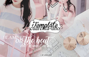 Template 41 ( + ) Plantilla editable by lovexlmost