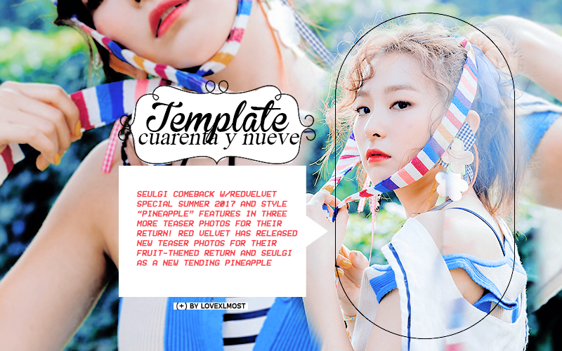 Template 49 ( + ) plantilla editable by lovexlmost