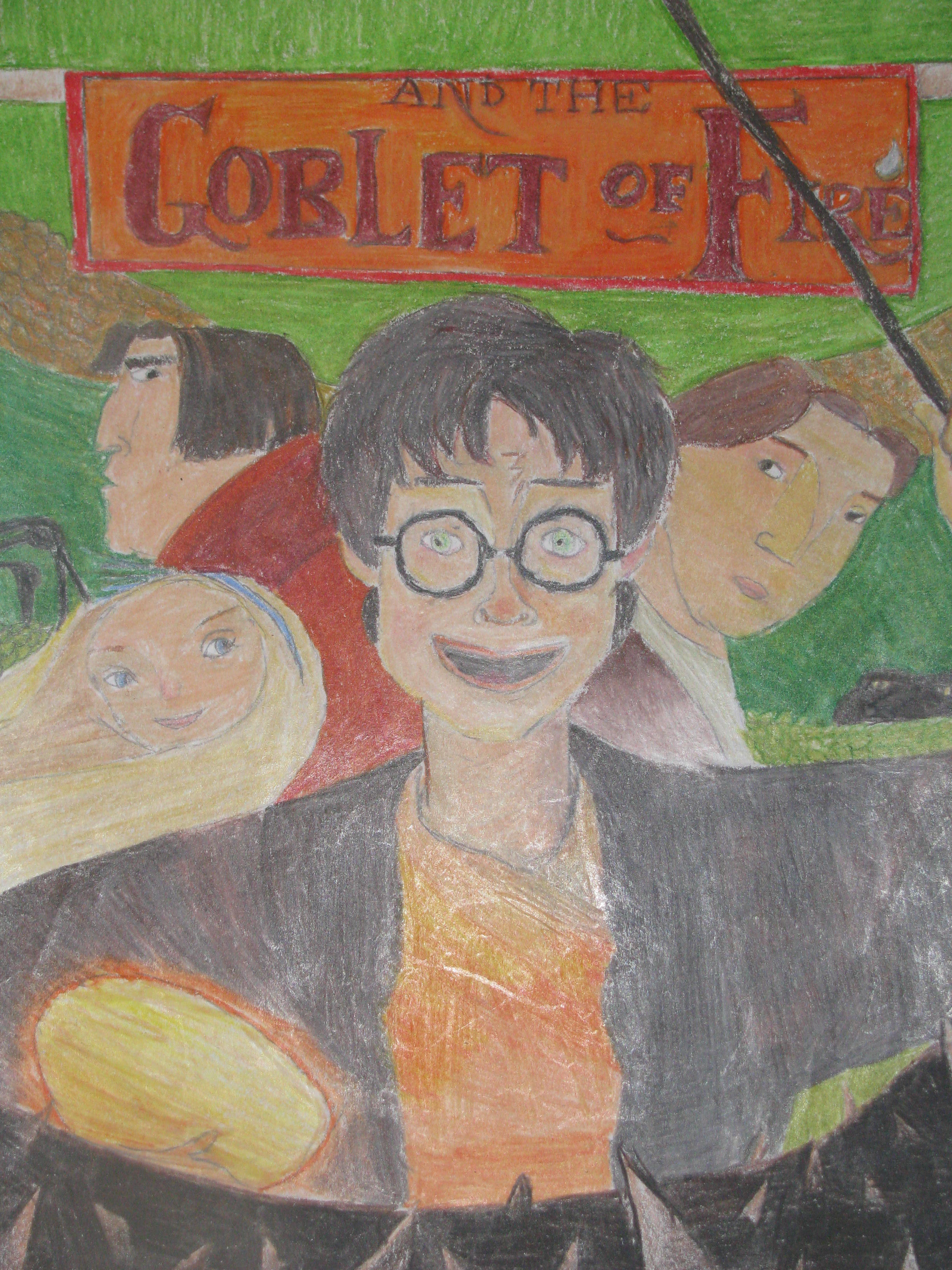 Harry Potter Book Goblet Of Fire Pdf : Harry potter and the goblet of fire by hougach on deviantart
