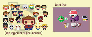 superfuturefriends - legion by missveryvery