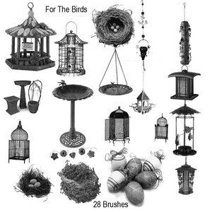 For the Birds CS Brushes by AutumnsGoddess-stox