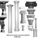 Grecian Pillars Brushes For Cs