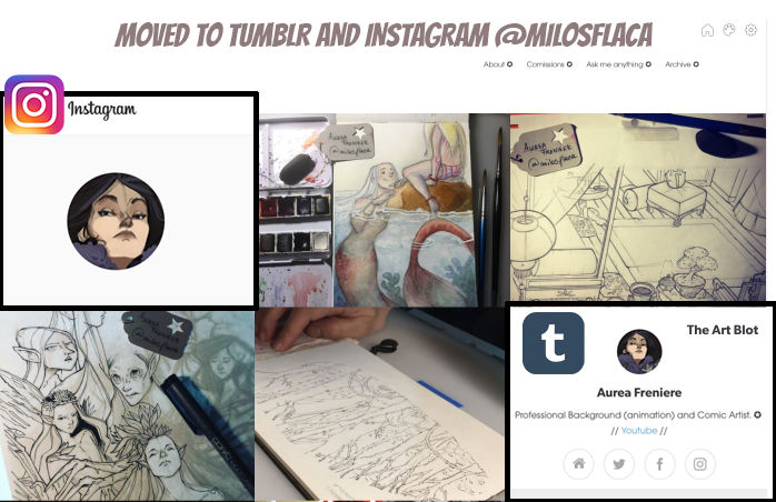 Moved to Tumblr and Instagram