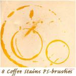 8 coffe rings