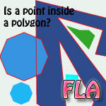 Polygon-point collision FLA by psykopath