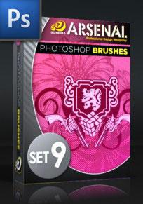 Photoshop Brushes Pack set 9 by rkoyuki