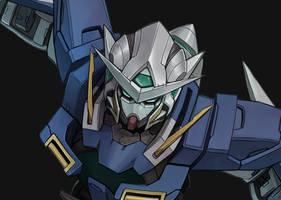 Gundam Exia Process by MaHenBu