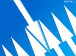 7 Arrows - Blue