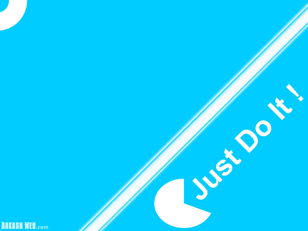 Just Do It - Blue