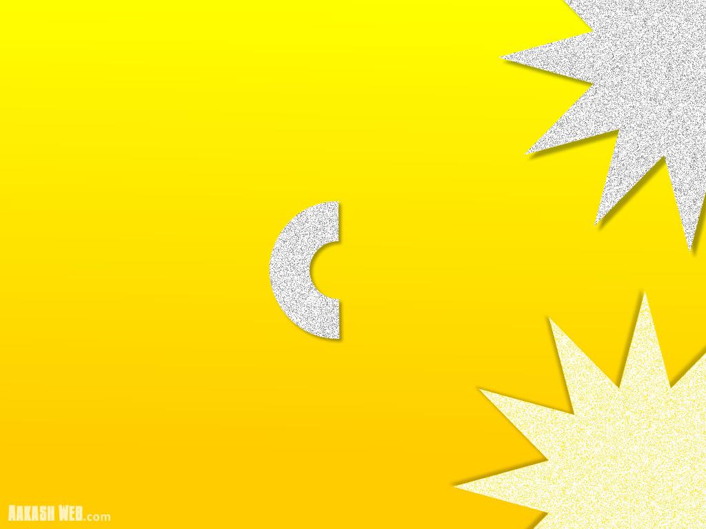 Half Star - Yellow