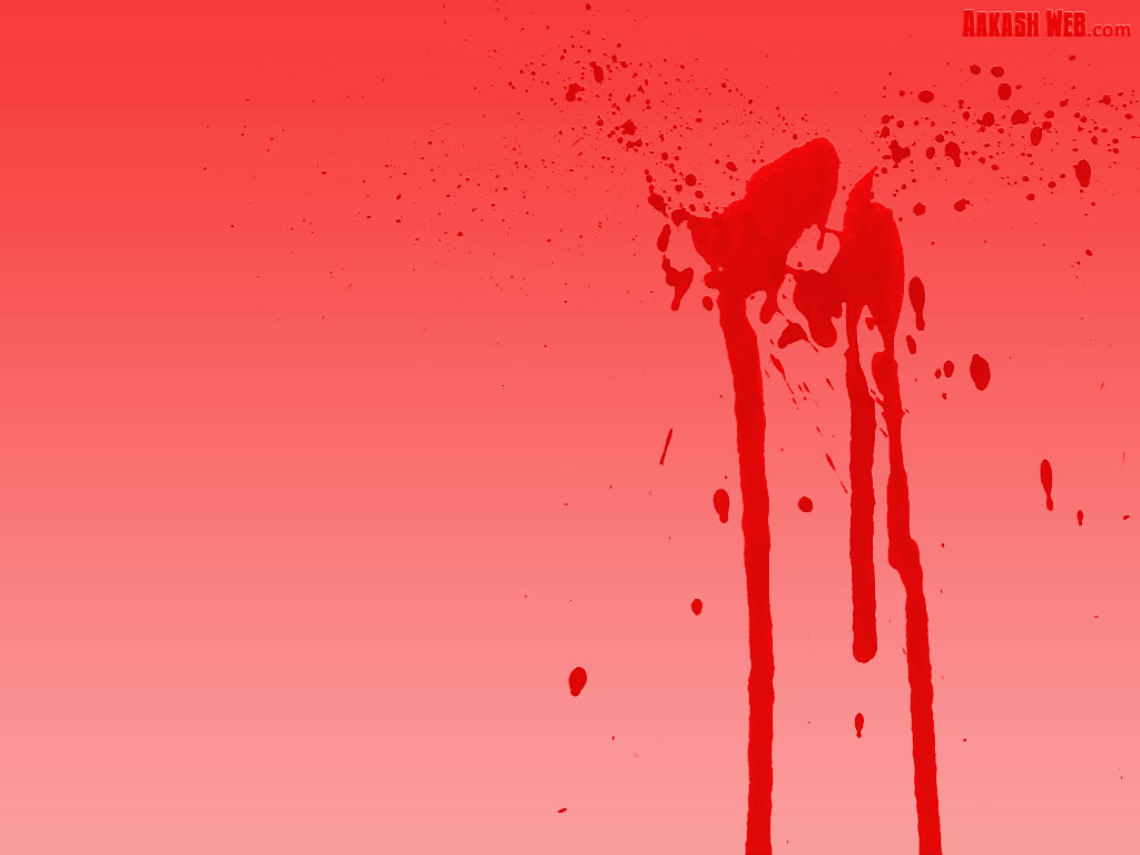 Red blood splat - 2