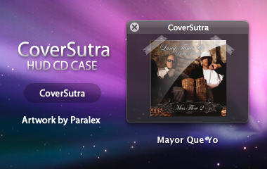 HUD CD Case for CoverSutra by paralexLX