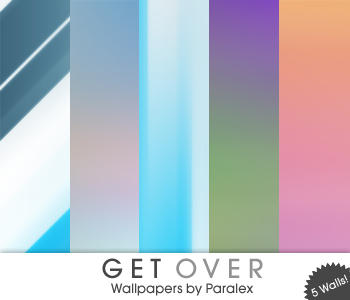 Get Over - Wallpaper Pack by paralexLX